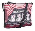 Leather Cats the Meowiscal Midi Cross Body Bag